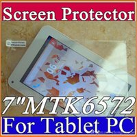 Wholesale DHL Original Screen Protective Film Protector Guard for quot MTK6572 Android Tablet PC D PG