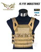 Wholesale Flyye Swift Plate Carrier D Cordura JPC Tactical Vest FY VT M028 Coyote brown