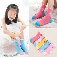 baby sock cake - Cartoon Baby Kids Cotton Socks Cute Ice Cream Cake Socks Years Girls Socks Infant Walking Children Warm Socks Clothing Styles