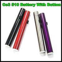 battery light kit - 510 evod battery with button CBD vape O Pen battery manual batteries with light on button and bottom o pen atomzier mini ce3 kit