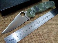 best quality knives - Best quality Spider C81GPCMO2 Paramilitary Knife C81 knife S30V camo G Black handle white blade