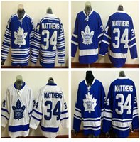 alternate jerseys - 2017 New Draft Toronto Maple Leafs Jersey Blue White Auston Matthews Ice Hockey Jerseys Team Color Alternate All Stitched Best Quality Mi