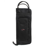 Wholesale Portable Black Nylon Cloth Portable Drum Sticks Gig Bag with Shoulder Strap Inside Pockets MIA_650