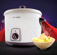 Wholesale Stewed treasure electric congee porridge soup white porcelain health slow cooker L