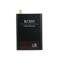 audio number - SGLEDs BOSCAM Wireless Receiver NEW VERSION RC802 RC805 FPV G Video Audio Receiver RX W Channel Number Display