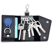 big black cars - big volume key bag case wallet fashion men multi functional genuine leather car key holder