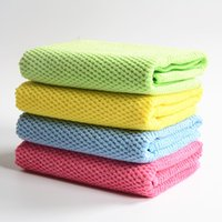 bathroom cleaning cloths - soft thick microfiber nano towel car kitchen floor cleaning cloth dish washing cloth Scouring Pad