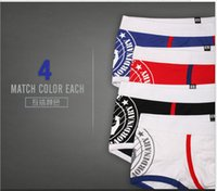 Wholesale 20PCS Hero Pink Sexy Gibs Colors New Disign Underwear Men For Male Breathable Elastic Boxers Shorts Men Manufacturers