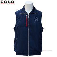 Wholesale Brand POLO Golf Mens winter warm vest Plus thick velvet golf jackets for men waistcoat windbreaker vest breathable apparel