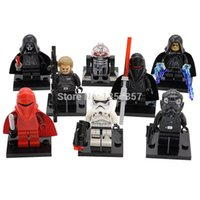 Wholesale XINH Star Wars Minifigures Stormtrooper Kallus Darth Nihilus Troopers Building Blocks Starwars Sets Models Figures Toys