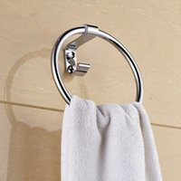 Wholesale luxury high quality with cheap price stainless steel towel ring for bathroom made in china