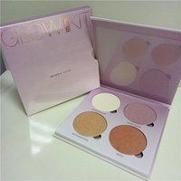 Wholesale New Branded ABH Glow Kit Makeup Face Blush Powder Blusher Palette Cosmetic Blushes Shades Gleam That Glow Sun Dipped Sweet