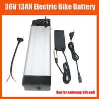 Wholesale Bottom Discharge W V Electric Bike battery V AH Lithium Use samsung mah cell With V A charger and BMS