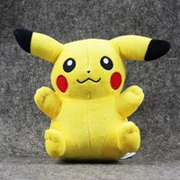 Wholesale 18cm New Arrival Japan Anime Stuffed Dolls Pikachu Plush Toys Colletible Gifts For Kids