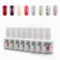 Wholesale LJJG157 Total Colors ml Brand New Removable Gelish Nail Polish Soak Off UV Nail Gel Polish