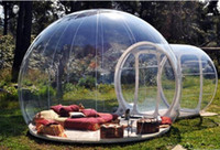 Wholesale Brand New Stargaze Outdoor Single Tunnel Inflatable Bubble Camping Tent with Blower