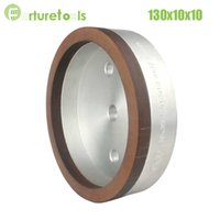 Wholesale 1piece resinoid diamond wheels for glass straight line glass edger beveling machine Dia130x10x10 hole grit BL019