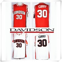 bel sleeves - Complete Logo name Stitched NCAA Davidson CURRY Basketball Jersey College BEL AIR Jersey Cheap Throwback retro shirt