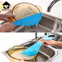 bean cooking - New Whale Cleaning Rice Beans Washing Sieve Drainer Device Strainer Cooking Tools Debris Filter Kitchen Gadget Utility PY0013