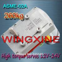 asme power - ASME A High power high torque servo the V V kg cm s Degree angle large robot Parts amp Accessories