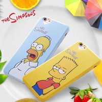 Wholesale 2016 latest Simpsons element design for the iphone silicone phone cover case For iphone6 for iphone6s