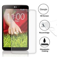 Wholesale Qiaogle Anti explosion Tempered Glass Screen Protector Ultra Hard For LG G Pad V500 inch Premium Screen Protector