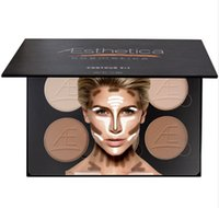 better oil - Aesthetica Cosmetics Cream Contour and Highlighting Concealer Makeup Kit better than beverly hills contour palette too for faced