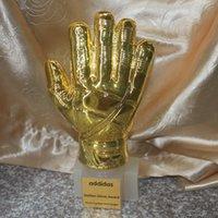 best football gloves - 2014 soccer football GOALKEEPER Golden Glove Award World cup best Goal keeper trophy best goalkeeper Yashin Award