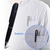 Wholesale 16GB GB Mini Spy DVR Business Portable HD P Hidden Video Recorder Spy Pen Wifi Pen Camera Wireless Nanny Cam Security Network Camera