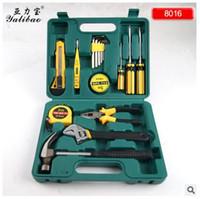 Wholesale 8016 household assembly tool set combination tool box Vehicle Tools set tool box maintenance tool