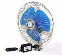 Wholesale Auto Cooling Air Fan quot Volt Ocillating For Truck Car Boat w speed control