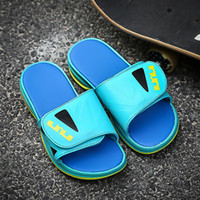 Wholesale cool fashion Summer Sport Sandals for Man Slides Air Cushion Men s Sandals Lebrones Slides outdoor slippers male flat shoes