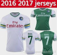Wholesale Best thai quality New York Cosmos Jerseys Home away RAUL PELE shirt
