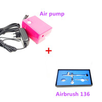 airbrush compressor air hose - Dual action Airbrush Kit Pen Body Paint Makeup Spray Gun for Nail Paint Art Drawing with Air CompressorWith a Hose