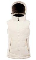 Wholesale 2016 new products MS outdoor vest color jacket Casual down vest White feather waistcoat Zipper Hooded Vest M XXXL L sales