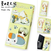 Wholesale Brand New Fashion Anime Natsume s Book of Friends Long Case Coin Case Purse Wallet PU Bag No
