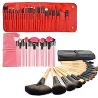 For Apple iPhone best makeup gift sets - Professional Makeup Brushes Set Cosmetic Kits Makeup Tools Makeup Brush with leather bag brushes make up for you Best Gift