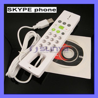 Wholesale With Driver Computer Web Chatting VOIP USB Phone SKYPE Telephone