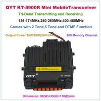 band tri - Mini Mobile Transceiver QYT KT R KT8900R Tri band Mobile Radio MHz KT KT8900 Upgraded Version
