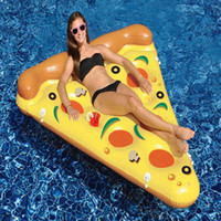 Wholesale Adult Water Inflatable Tube Super Light Safety Infant Beach Swimming Pizza Float Inflatable Tubes JF0021 salebags