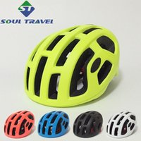 bicycle drops - Soul Travel Men Bike Helmet Eps Vents Cycling Bicycle Safe Cap Integrally molded Helmets Five Colors Dropping Shipping