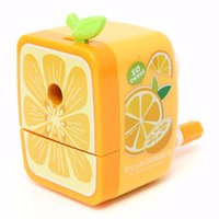 Wholesale Modern Design Rotary Pencil Sharpener Hand Crank Manual School Stationery Desktop Watermelon for Office School Kids Supplies