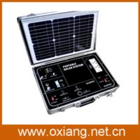 ac electricity generation - Portable W mini size AC v v home solar electricity generation system SP500A