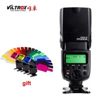 Wholesale VILTROX JY A Universal Camera LCD Flash Speedlite For Canon Nikon Pentax Olympus DSLR Free Color Gels Filter