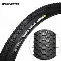 Wholesale WEST BIKING Bicycle TPI Tire Mountain Bike The Folding Tires Neumaticos Use For City Competition Cross country Cycling
