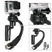 Wholesale Black Mini Handheld stabilizer Video Steadicam for Gopro Hero Sj4000 Sj5000 Sj6000 Sj7000 Xiaomi yi