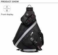 Wholesale Casual Sport Messenger Bag Men Outdoor Travel Triangle Crossbody Shoulder Bags For Teenagers Waterproof Oxford Lash Package