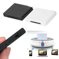 Wholesale Bluetooth A2DP Music Receiver Adapter for iPod For iPhone Pin Dock Speaker Hot Worldwide