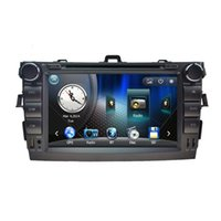 1080p mp4 player - 8 inch Car dvd player for Toyota corolla in dash din P car radio gps video player head unit