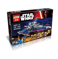aircraft fighters - STAR WARS Set Resistance X Wing Fighter BB Poe The Force Awakens Building Bricks Block Lepin
